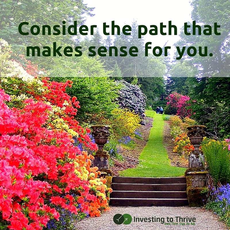 Have you been judged by financial advisers? Consider finding and taking a path that makes sense for you, not one based on flawed preconceptions.