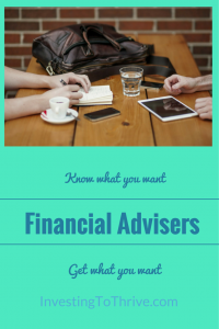 Investing to Thrive financial advisor