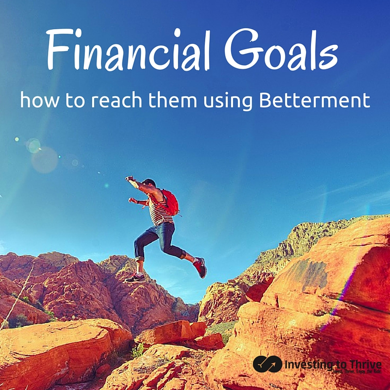 Online financial advisory firm Betterment matches its recommendations with financial goals. Learn how to use Betterment to pursue and monitor goals.