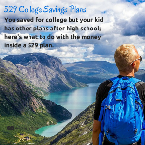 InvestingtoThrive.com 529 Plans What to Do If Your Child Doesn't Go to College