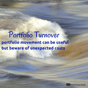 InvestingtoThrive.com Portfolio Turnover