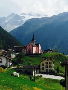 Along the Tour du Mont Blanc