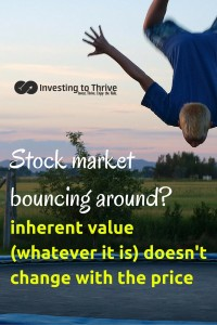Investing to Thrive stock valuations