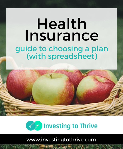 Guide To Choosing Health Insurance With Spreadsheet