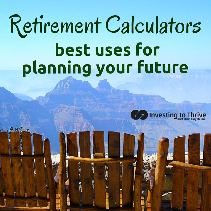 etirement calculators can give you a rough idea of how well you're saving for retirement. Learn how to use the results without relying on them too much.