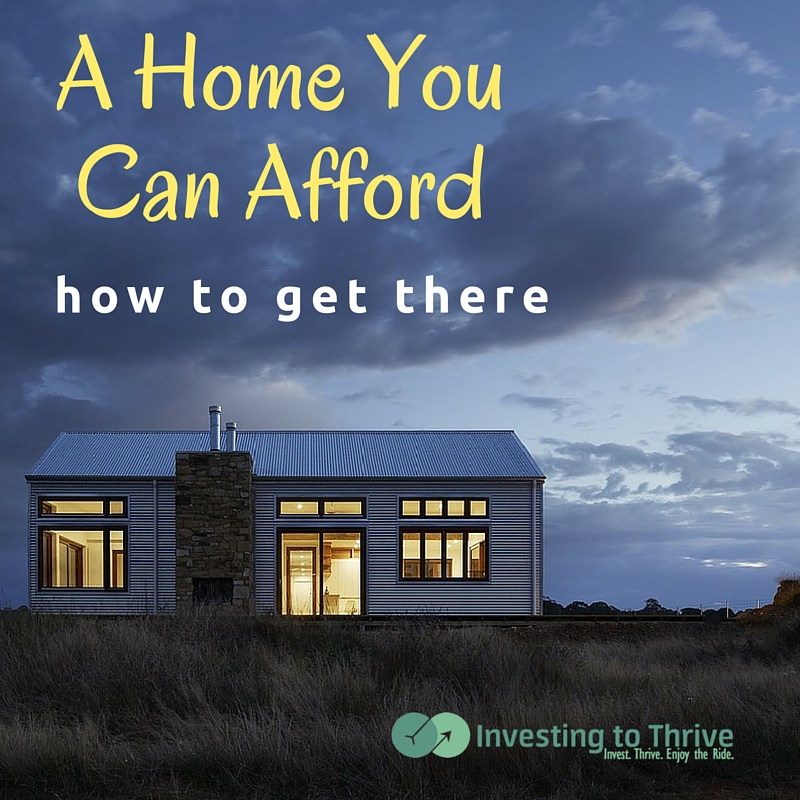 Housing can be a major expense. Here are thoughts on buying a house you can afford so you'll still have money to invest.