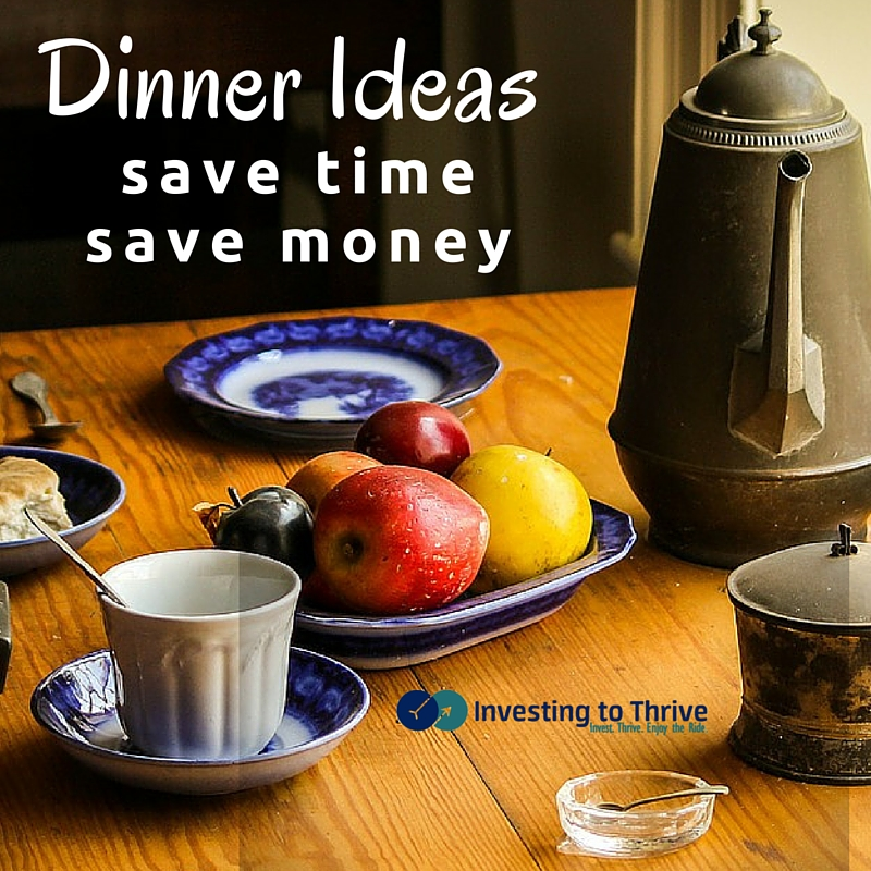 Preparing and paying for meals is time-consuming and can be costly. Learn ways to save money and time with these at-home dinner ideas.