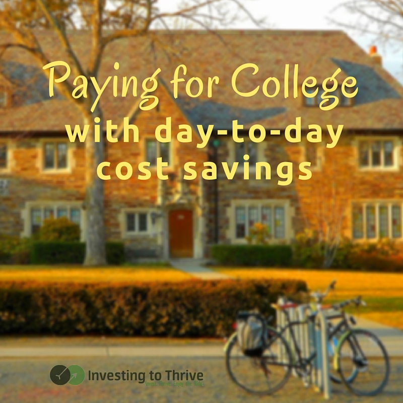 Despite your best intentions, you may fall short when saving for college. But paying for college can happen (partly) with your current income. Learn how.