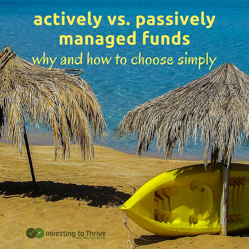 Actively managed funds underperform passively managed funds or index funds on a regular basis. Here's why and what it can mean for me.