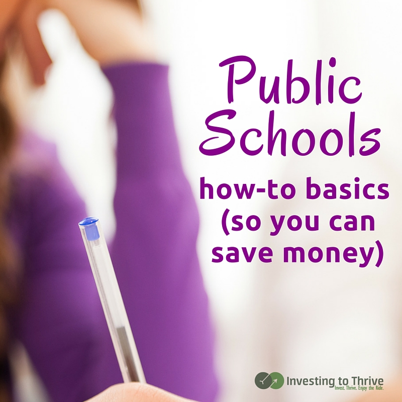 Private school tuition can be costly so you may opt for a public school. Here's a checklist to compare public schools.