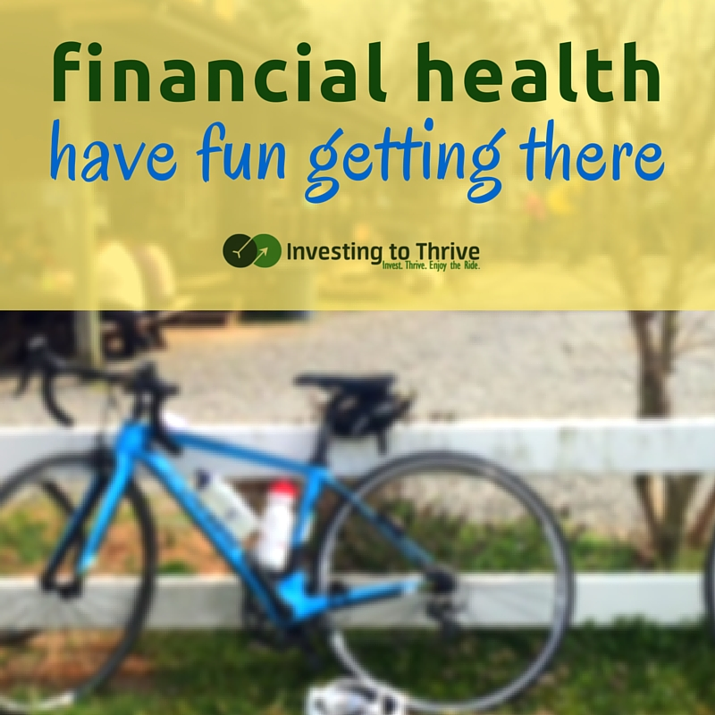 Financial health means having the capability and flexibility to act largely based on preferences. It takes a while to get there.