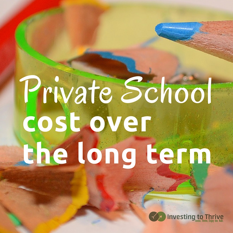 The cost of private school may be higher than you may realize.