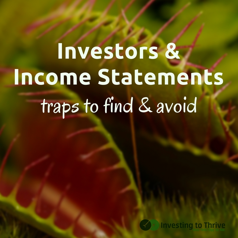 Tricks and traps in income statements may falsely represent a company's performance to investors. Learn traps to avoid based on The Intelligent Investor.