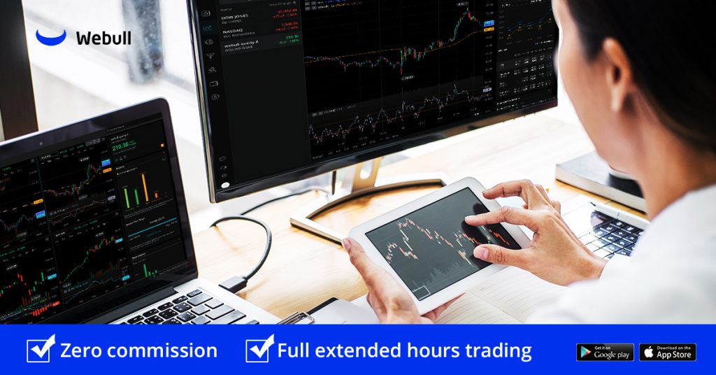 Webull stock trading